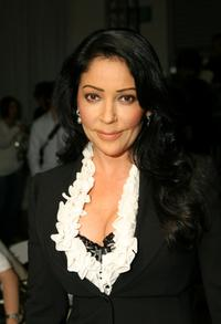Apollonia Kotero at the Joseph Domingo Fall 2007 fashion show during the Mercedes Benz Fashion Week.