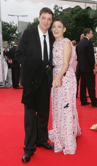 Nicolette Krebitz and Guest at the Deutscher Filmpreis, the German Film Awards.