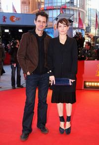 Tom Tykwer and Nicolette Krebitz at the 59th Berlin Film Festival.