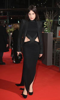 Nicolette Krebitz at the Germany premiere of