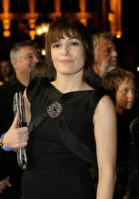 Nicolette Krebitz at the Hesse Movie Awards.