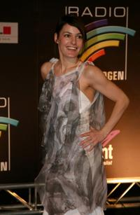 Nicolette Krebitz at the Radio Regenbogen Awards.