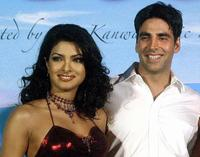 Priyanka Chopra and Akshay Kumar at the launch of the soundtrack of