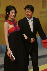 Kelly Chan and Leon Lai at the Celebrations for Upcoming 10th Anniversary of Hong Kong's return to China.