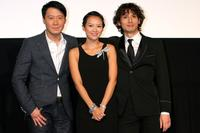Leon Lai, Zhang Ziyi and Masanobu Ando at the premiere of