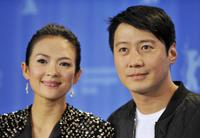 Zhang Ziyi and Leon Lai at the photocall of