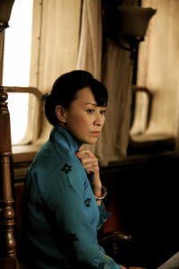 Carina Lau as Mrs. Ma in ``Let the Bullets Fly.''