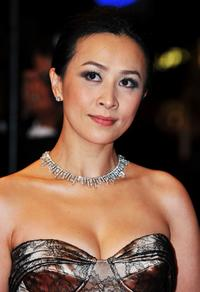 Carina Lau at the premiere of