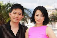 Tony Leung and Carina Lau at the photocall of