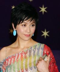 Carina Lau at the 25th Hong Kong Film Awards.