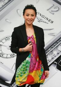 Carina Lau at the Longines exclusive shoppe launching ceremony.