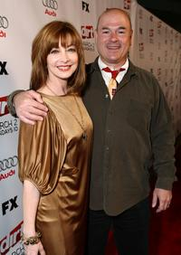 Sharon Lawrence and Larry Miller at the 2nd season premiere screening of