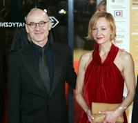Ulrich Muehe and Susanne Lothar at the European Film Awards.