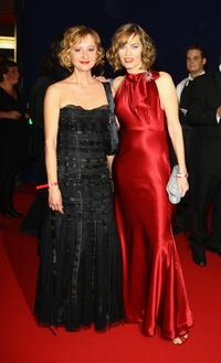 Susanne Lothar and Gesine Cukrowski at the German TV Award 2008.