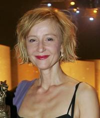 Susanne Lothar at the Goldene Henne Awards.