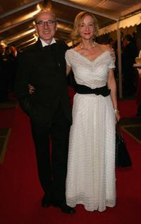 Ulrich Muehe and Susanne Lothar at the Goldene Henne Awards.
