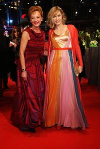 Susanne Lothar and Gesine Cukrowski at the premiere of