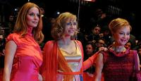 Esther Schweins, Gesine Cukrowski and Susanne Lothar at the premiere of