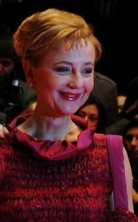 Susanne Lothar at the premiere of