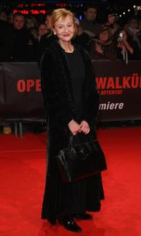 Susanne Lothar at the European premiere of