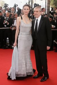 Alessandra Martines and Claude Lelouch at the premiere of