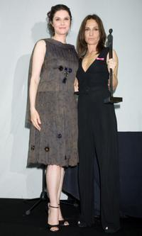 Alessandra Martines and Mariasole Tognazzi at the
