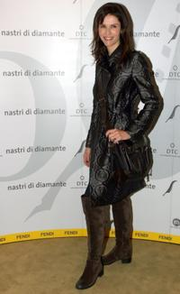 Alessandra Martines at the Fendi party