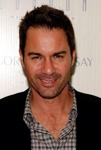 Eric McCormack at the Chef Gordon Ramsay's celebration opening party.