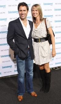 Eric McCormack and Guest at the Entertainment Weekly's Sixth Annual Pre-Emmy Celebration party.
