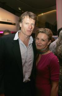 William McInnes and Justine Clarke at the after party of the US premiere of
