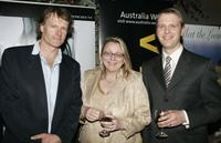 William McInnes, Lisa Klinck-Shea and Peter Wilmert at the after party of the US premiere of