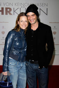 Claudia Michelsen and Anatole Taubmann at the Germany premiere of