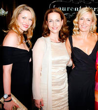 Kiera Chaplin, Claudia Michelsen and Judith Milberg at the event