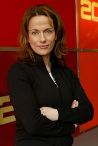 Claudia Michelsen at the 54th annual Berlin International Film Festival.