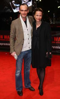 Anatole Taubman and Claudia Michelsen at the European premiere of