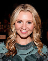 Beverley Mitchell at the FIJI Water at Vivienne Tam Spring 2012 fashion show during the Mercedes-Benz Fashion Week in New York.