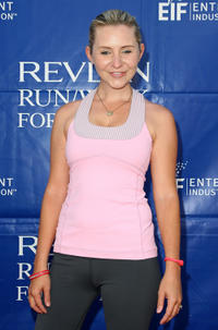 Beverley Mitchell at the 17th Annual EIF Revlon Run/Walk For Women in California.
