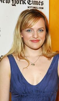 Elisabeth Moss at the New York Times Arts and Leisure Week.