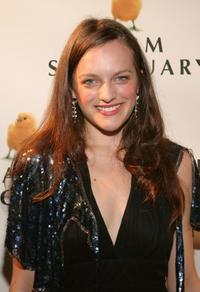 Elisabeth Moss at the Farm Sanctuary Gala 2004.