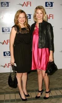 Elisabeth Moss and January Jones at the 8th Annual AFI Awards.