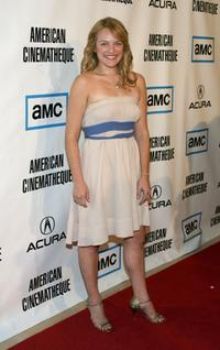 Elisabeth Moss at the 22nd Annual American Cinematheque Award presentation.
