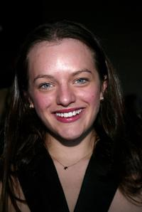 Elisabeth Moss at the Vivienne Tam fashion show during the Olympus Fashion Week.
