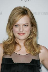 Elisabeth Moss at the Media's 25th annual Paley Television Festival.