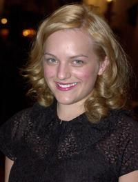 Elisabeth Moss at the Phoenix Rising Award Dinner.