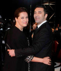 Desiree Nosbusch and Mehmet Kurtulus at the Goldene Kamera 2010 Award in Germany.
