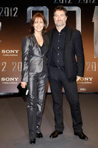 Desiree Nosbusch and Harald Kloser at the Europe premiere of