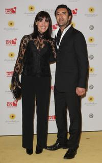 Desiree Nosbusch and her friend Mehmet Kurtulus at the Dreamball 2007.
