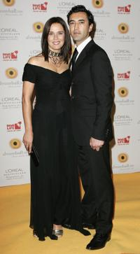 Desiree Nosbusch and her friend Mehmet Kurtulus at the Dreamball 2006 cancer charity ball.