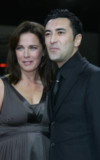 Desiree Nosbusch and Mehmet Kurtulus at the 20th European Film Awards.