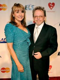 Mariana Williams and Paul Williams at the 2010 MusiCares Person of The Year Tribute To Neil Young.